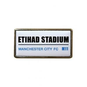 Manchester City F.C - Metal Badge (SS) - GIFT