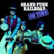 GRAND FUNK RAILROAD On Time CD BRAND NEW Bonus Tracks Remastered