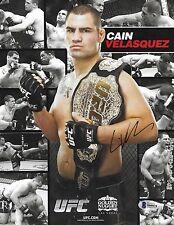 Cain Velasquez Signed 8.5x11 Photo BAS Beckett COA 2013 UFC Promo Picture Auto'd