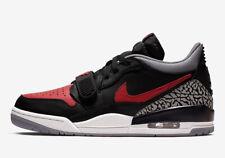 Mens Air Jordan Legacy 312 Low CD7069-006 Black/Varsity Red-Black New Size 12