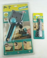NEW Wolfcraft 4640 Dowel Master Dowelling Jig+ 3 Piece Drill Set