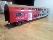"""KLEIN-Modellbahn   """"WIESEL""""-Doppelstockzwischenwagen   in  OVP   Spur  H0   1:87"""
