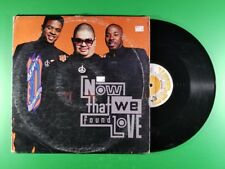 Heavy D & The Boyz - Now That We Found Love (1991, 12'' Single)