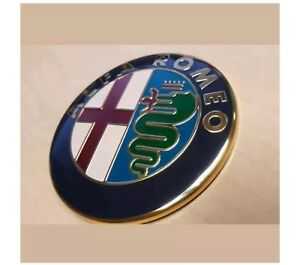 **UK** 74mm Alfa Romeo Emblems Badge GT 147 156 159 Brera Mito Giulietta