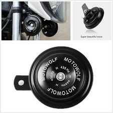 Super Loud 110DB DC12V Black Motorcycles Bicycle Snail Horn Speaker Loudspeaker