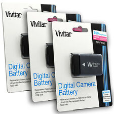 3x NP-FW50 Battery for Sony Alpha A33 A35 A55 NEX-3 NEX-5 NEX-6 NEX-7 A7R