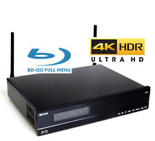 "Egreat A10 3.5"" Disque Dur Ultra-HD 4K HDR UHD + BD + DVD ISO Menu complet ANDROID MEDIA BOX"