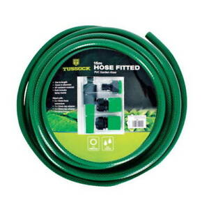 Garden Hose with Connections, 15m