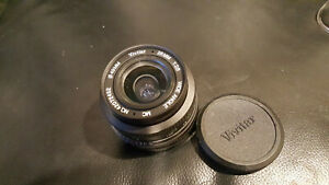 Vivitar 28mm f2.8 MC Wide Angle Lens 28/2.8 Canon FD AE1/A1/F1 etc.  Tested