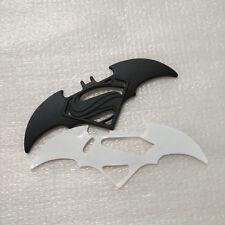 Style 3D Metal Black Bat Auto Car Sticker Batman vs superman Badge Emblem Tail