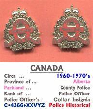 Obsolete Badges • Canada-AB • Parkland County Nº 31 Pol' • Post 1953 • C•4366•