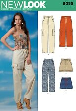 6055 MISSES' TROUSERS & SHORTS Sewing pattern NEW LOOK   - Sizes 6 - 16