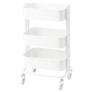 *New* RÅSHULT Trolley, white 38x28 cm 204.630.56 *Brand IKEA*