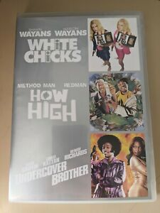 White Chicks / How High / Undercover Brother - Genuine Region 4 DVD