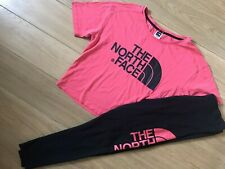 The North Face Leggings & T-Shirt Outfit / Set. Girl's Size XL / Women's Size S