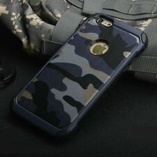 2 in 1 Army Camo Camouflage Hard Back Phone Case Cover For iPhone 5 6 6S 7 Plus