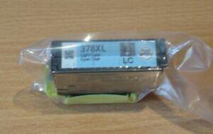 GENUINE EPSON 378XL Light Cyan cartridge T3795 ORIGINAL SQUIRREL vac' sealed ink