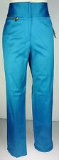 "Sz 6 Anne Klein Stretch Blue Pants NWT waist 30"" length 32"""