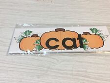 Pumpkin Patch Dry Erase - Laminated Activity Set - Teaching Supply  - AT words