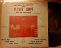 LP-MARIO ROVI AND HIS ORCHESTRA-SOMETHING TO REMEMBER 3-GROUP OBSCURE-POP ITALIA