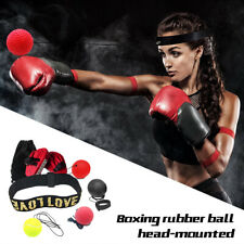 Boxing Training Fight Ball Reflex Speed Training Head Band Boxing Punch Exercise