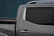 Chrome LUNOTTO POSTERIORE Trim accento copertura per adattarsi Nissan Navara NP300 (2015+)