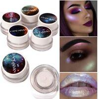 5 Farben HANDAIYAN Eye Glitter Highlight Lidschatten Make-Up Lidschatten Pulver.