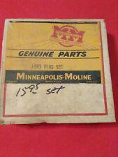 Nos Minneapolis Moline Genuine 15R3 Ring Set