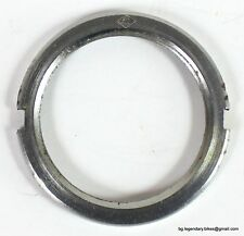 Campagnolo Track hub Pista fixie cog Steel lockring Made in Italy lock ring USED