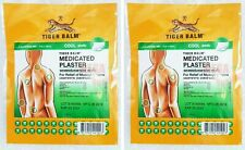 2 Packs Tiger Balm Patch Plaster Cool Medicated Back Pain relief 7 x 10 Cm.