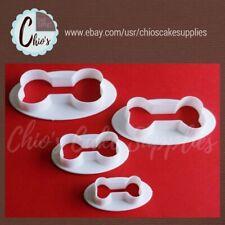 Dog bones cookie cutter set. 4 pieces