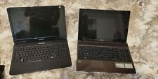 Lot de deux ordinateurs portables cassés Emachines 525 + Acer Aspire 5552g
