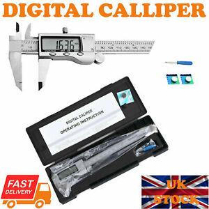 6 inch Digital Vernier Caliper 150mm Stainless Steel Micrometer Electronic Tool
