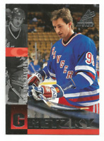 1997-98 Pinnacle Inside #3 Wayne Gretzky New York Rangers