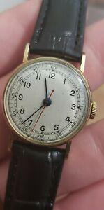 RARE Military Style Vulcain watch from the  WWII Era. Runs good 26.5mm
