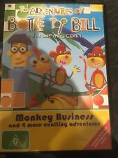 The Adventures of Bottle Top Bill and His Best Friend Corky Monkey Business DVD