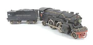 Lionel 1835E Prewar Standard Gauge 2-4-2 Locomotive & 1835W Tender