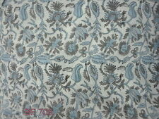 10 yard Indian Cotton Voile Fabric Hand Block Print Craft Dressmaking Material