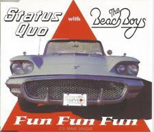 Status Quo & The Beach Boys - Fun Fun Fun 1996 CD single