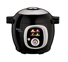 Tefal Cook4Me+ Intelligent Multi Cooker Interactive Control Panel Black CY851840