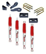"Chevy GMC Sierra Silverado 2500HD 3""+2"" Lift Kit Rancho RS9000XL shocks"