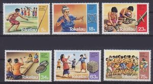 Tokelau Mi No. 90 - 95, Tradition, Sport, Mint MNH
