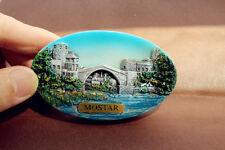 Bosnia and Herzegovina Mostar Tourist Travel Souvenir 3D Resin Fridge Magnet