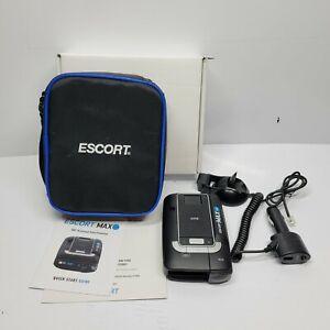 Escort MAX 360 Radar Detector W/ Smart Cord, Case, Mount, Papers