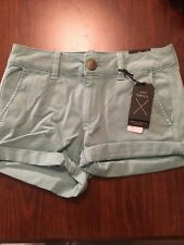 American Eagle  Womens Shorts Size 2 Aqua Summer Low Rise New With Tags NWT Outf