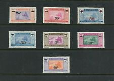 Y321 Mauritania 1924/7 SURCHARGED 7v. MNH/MLH