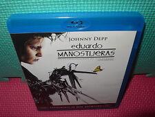 EDUARDO MANOSTIJERAS - JOHNNY DEPP  - BLU-RAY