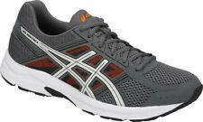 Asics Gel Contend 4 De Carbono/Plata/Naranja Zapatillas Running Shoe Reino Unido 5, 6, 11.5