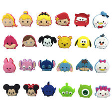 Mixed 50PCS Tsum Tsum Shoe Charms Shoes Accessories Fit in Shoes Kids Xmas Gifts