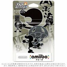 Amiibo Mr. Games & Watch - Nintendo - Brand New - Factory Sealed